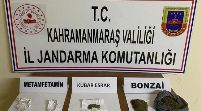 -Kahramanmaraş'ta uyuşturucudan 7 kişi gözaltına alındı..