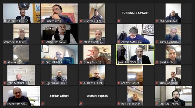 KMTSO MECLİSİ YENİ YILIN İLK TOPLANTISINI YAPTI ..
