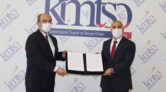 KMTSO VE HALK BANKASI KOBİ'LER İÇİN FİNANSMAN ANLAŞMASI İMZALADI..