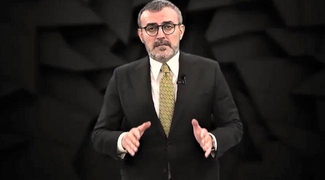 """Mahir Ünal, """"Kemal Kılıçdaroğlu ve etrafında toplanan avaneleri bu ülkede huzursuzluk iklimi oluşturmak istiyor"""".."""