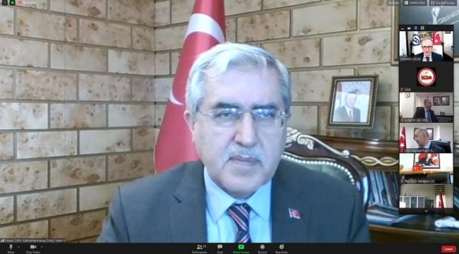 Rektör Prof. Dr. Niyazi Can, Üniversitelerarası Kurul Toplantısına Katıldı.