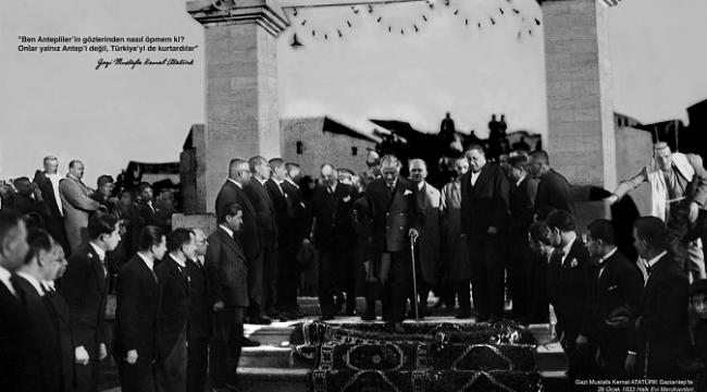 SANKO Sanat Galerisinde Etem Çalışkan Çizgileri ile Atatürk Portreleri sergisi açıldı..