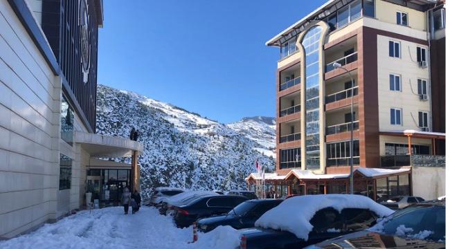 Termal otellerden tatilciler tahliye edildi..