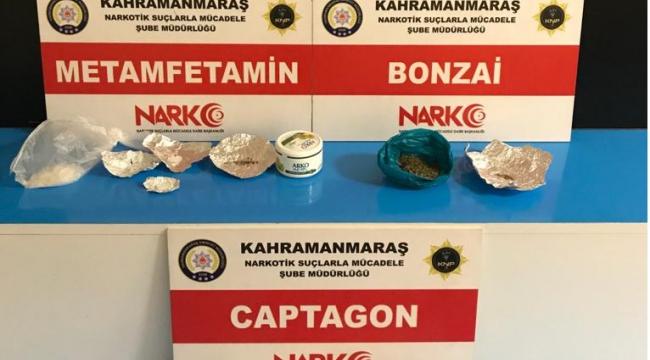 Uyuşturucu pazarlığına polis baskını, 3 tutuklama..