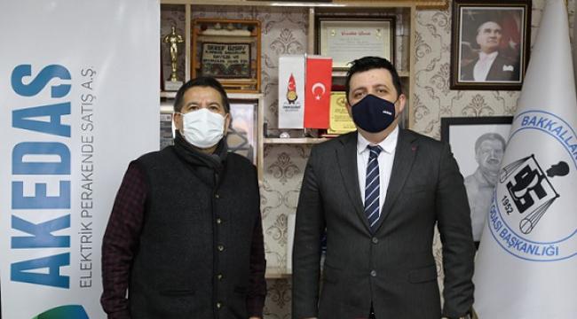 Akedaş'tan Esnafa İndirimli Elektrik Desteği...