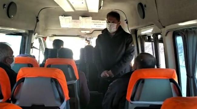 Jandarma trafik ekiplerinden sivil denetim..