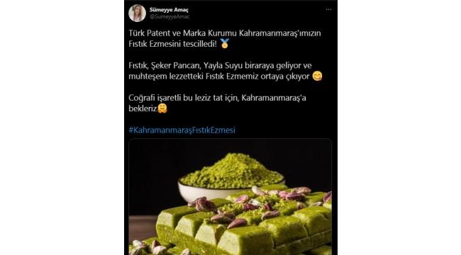 Kahramanmaraş Fıstık Ezmesi Türkiye Gündeminde