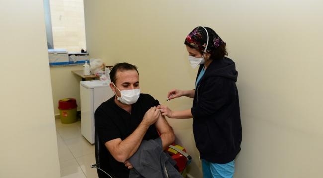KSÜ 'de COVİD-19 Aşısı 2. Doz Uygulamasına Başlandı