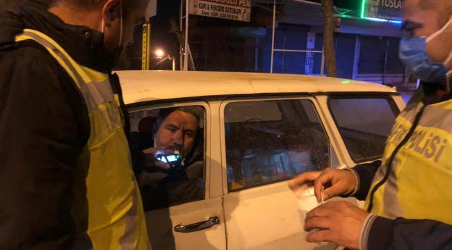 Kural tanımayan sürücüler kaçtı polis kovaladı