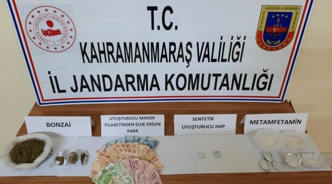 Pazarcık'ta uyuşturucudan 14 kişi gözaltına alındı