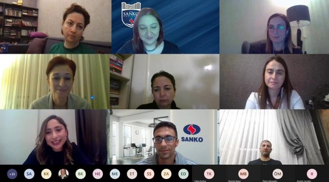 SANKO Okulları Online Söyleşilere Devam Ediyor