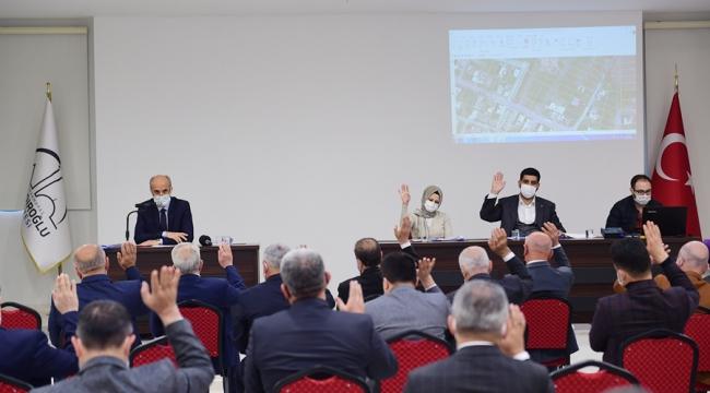 Dulkadiroğlu Meclis Toplantısını Yaptı