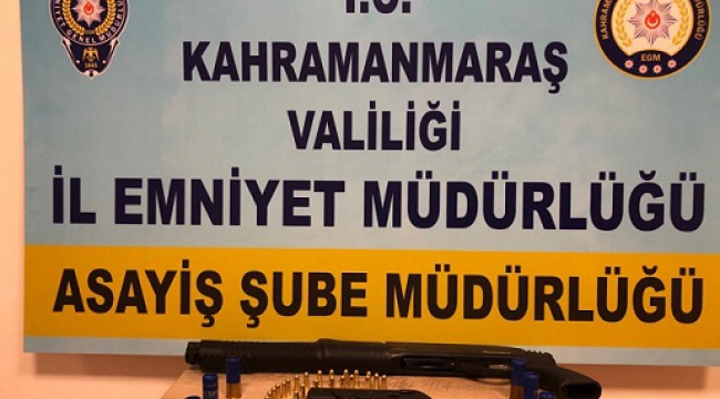 Kahramanmaraş'ta silahlı kavga: 3 yaralı..