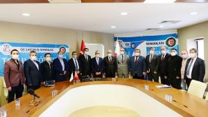 KSÜ ve Öz Sağlık-İş Sendikası Arasında Toplu İş Sözleşmesi İmzalandı