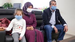 Küçük Ayşe KSÜ'de yapılan ameliyat sonrasında sağlığına kavuştu