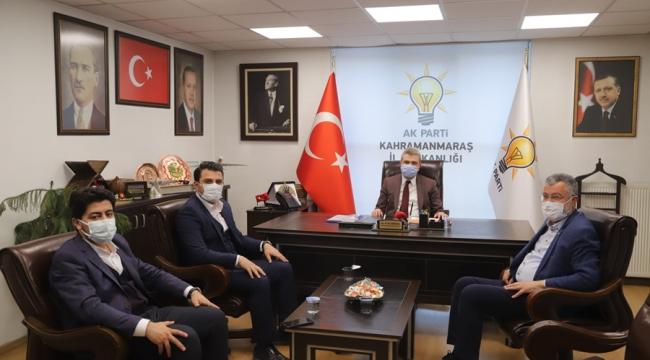 Kurtuluş Sular ve Emre Nasır'dan Başkan Fırat Görgel'e ziyaret