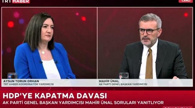 """Mahir Ünal, """"AK Parti'nin 19 yıllık iktidarını özeti güven ve istikrardır"""".."""