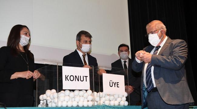 Onikişubat Belediyesi Kentmar Kooperatif Evleri Daire Sahipleri Belirlendi..