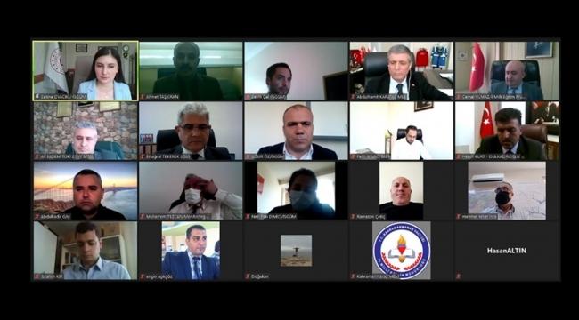 21.Yüzyılda İş Sağlığı ve Güvenliğini Geliştirme Projesi Açılış Toplantısı Yapıldı