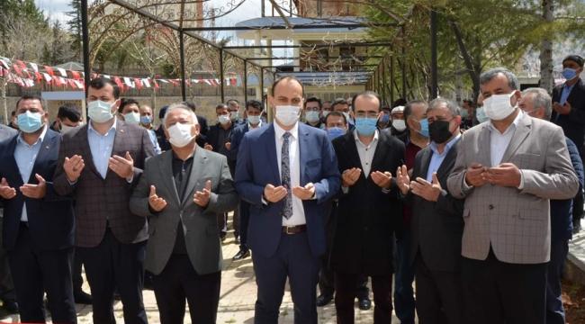 Çağlayancerit'te, Aşevi ve Sosyal Market Açılışı Yapıldı