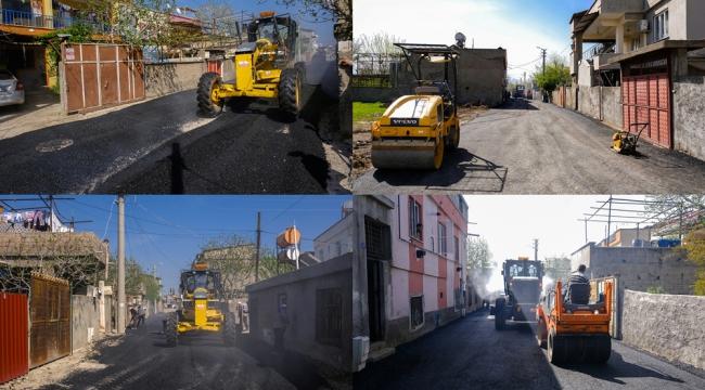 Dulkadiroğlu'nda Asfalt Çalışmaları Hız Kazandı