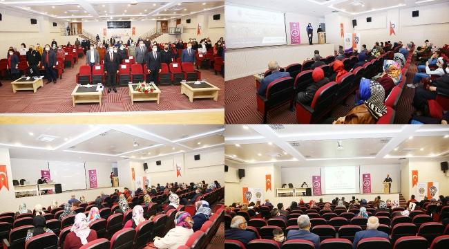 Emniyet kadına yönelik şiddete karşı bilgilendirme ve bilinçlendirme toplantısı gerçekleştirdi