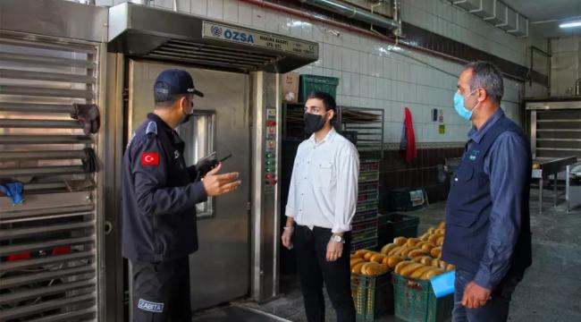 Fırınlara Pandemi Denetimi