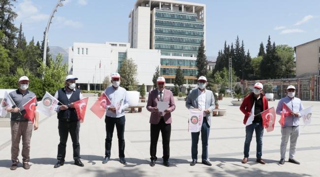 Hak-İş İl Başkanı Çınar'dan 1 Mayıs açıklaması