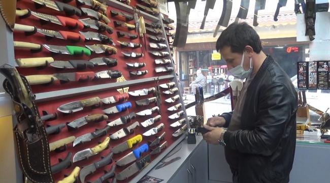 Kahramanmaraş'ta 7 kuşaktır bıçak üretiyorlar