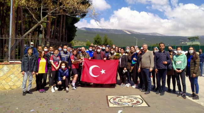Kahramanmaraş'ta öğrenci kavgası tatlıyla bitti