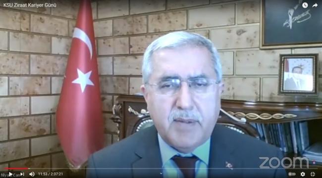 """""""Kariyer Günü"""" Etkinliğinde Ziraat Fakültesi Mezunları Bir Araya Geldi"""