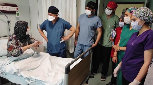 KSÜ Başarılı ameliyatlarına bir yenisini de ekledi