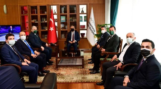 MÜSİAD'dan Başkan Güngör'e Ziyaret