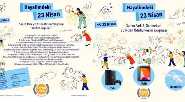 SANKO Park AVM, Çocuklara Yönelik Ödüllü Yarışma Düzenledi