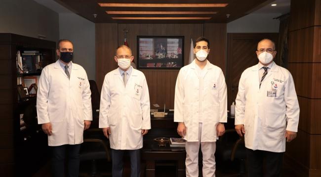 SANKO Üniversitesi Tıp Fakültesi Mezunu Uncuoğlu'nun Başarısı
