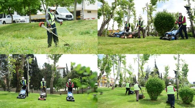 Vatandaşlarımız park ve bahçelerimizde daha güzel ortamda vakit geçirebilecekler