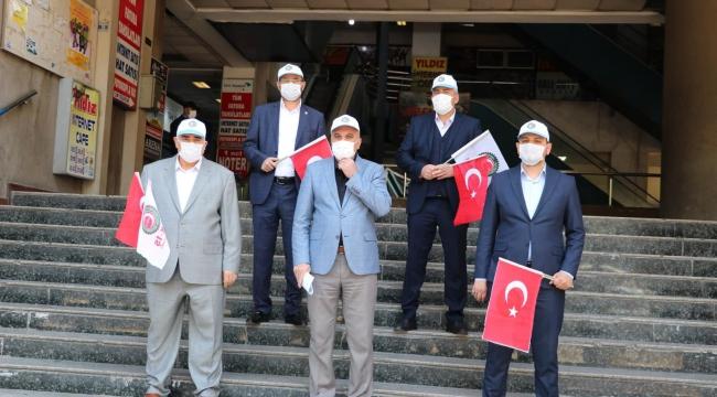 Başkan Çınar: İsrail, dünyanın gözünün içine baka baka zalimlik yapmaktadır