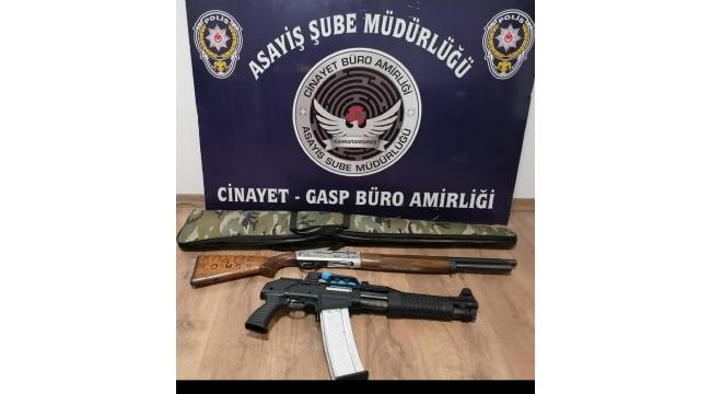 Kahramanmaraş'ta havaya rast gele ateş eden 10 kişi gözaltına alındı