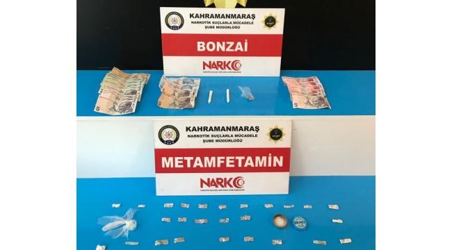 Kahramanmaraş'ta narkotik operasyonunda 2 kişi tutuklandı