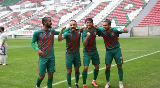 Kahramanmaraşspor, deplasmanda Amed Sportif'e 4-1 mağlup oldu