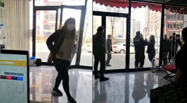 Maske takmayı reddederek olay çıkaran kadına ceza yağdı