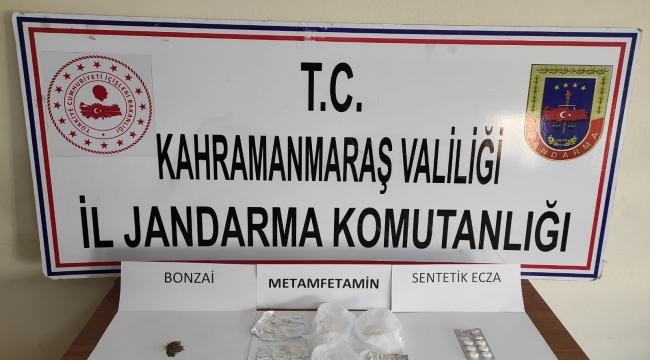 Pazarcık'ta uyuşturucudan 8 kişi gözaltına alındı