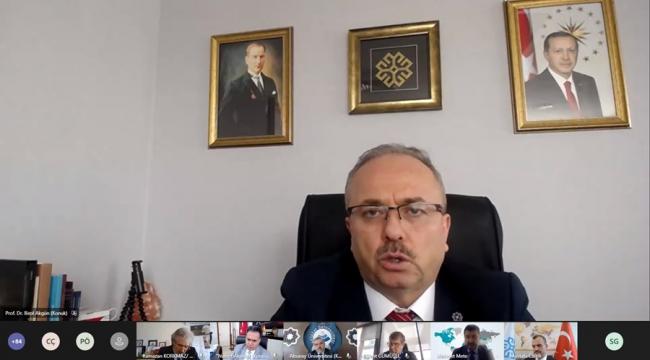 Rektör Can, Türkiye Maarif Vakfı Üniversiteler ile İstişare Toplantısına Katıldı
