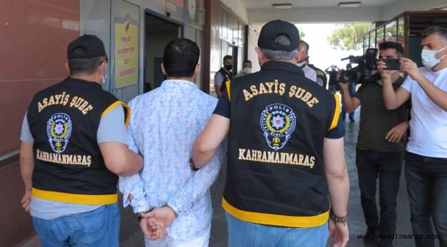 35 yıl hapis cezasıyla aranan firari hükümlü Kahramanmaraş'ta yakalandı