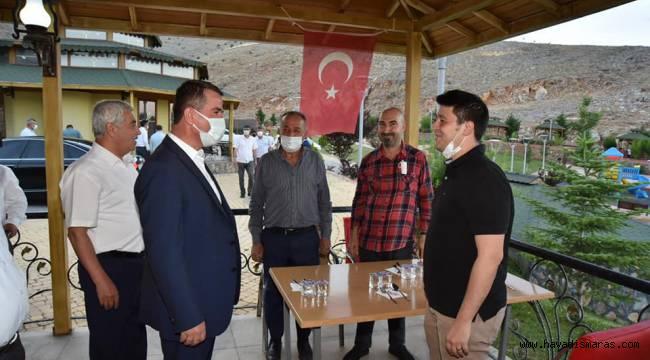 """Başkan Okumuş """"Türkoğlu İlçemiz, En Kısa Süre İçerisinde Küçük Sanayi Sitesine Kavuşacak"""""""