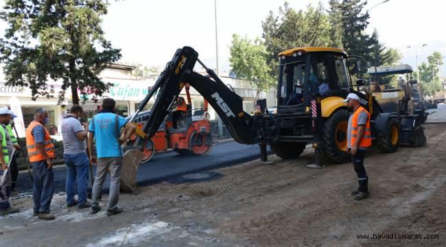 Büyükşehir'den Azerbaycan Bulvarı'na Hızlı Müdahale