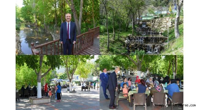 Doğa Harikası Cevizli Park Açıldı