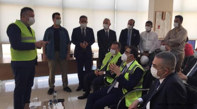 Enerji ve Tabii Kaynaklar Bakanı'ndan Kipaş Holding'e Ziyaret