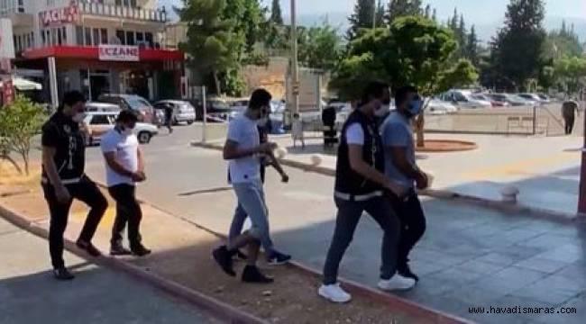 Kahramanmaraş'ta uyuşturucu satıcılarına dev operasyon!