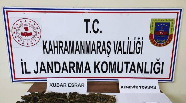 Pazarcık'ta uyuşturucudan 2 kişi yakalandı